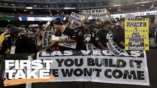 Stephen A. Blames Politicians For Raiders Move to Las Vegas   First Take   March 28, 2017