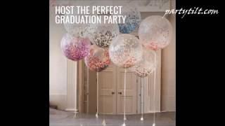 Party Ideas & Graduation Party Supplies -  Elegant Graduation Party Ideas [partytilt.com]