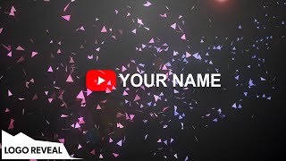 Particle Logo Reveal Template - After Effects | No Plugins Required (Minimal Animation)