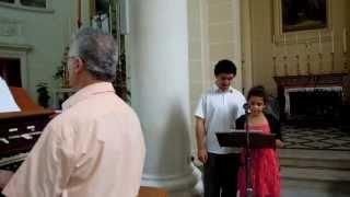Juan Carlos Ciantar - Resta con noi Signore la sera - played by Maestro Raymond Storace