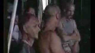 Rammstein - Backstage at SOAD (System of a down)