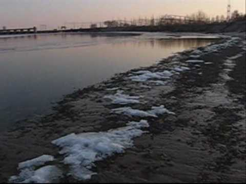 10.03.2010 High tide,Dnieper,Zaporizhzhya,Ukraine….wmv