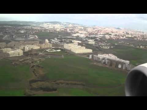 Ryanair 737 Landing Morocco