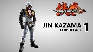 Tekken 7 - Jin Kazama Combo Video - PS4 | DietyDevil