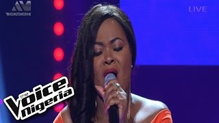 "Theodora sings ""Big Girls Cry"" / Live Show / The Voice Nigeria 2016"