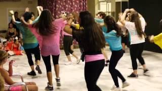 Exhibición Aerobic 15 de Junio de 2012: Baile 1