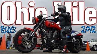 OHIO MILE: Nitrous Hayabusa's and Kawasaki zx14's ECTA Motorcycles, Wilmington Air Park