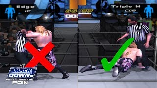 How To Fight With Referee & Cheat Any Match | WWE SD! HCTP 2003