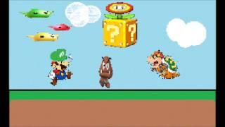 Mario MIDI to MP3 to MIDI to MP3