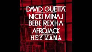 Miley Cyrus - Hey Mama ft David Guetta (Audio)