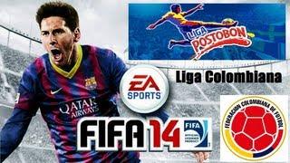 FIFA 14 - Liga Colombiana Confirmada (Liga Postobón Totalmente Licenciada)