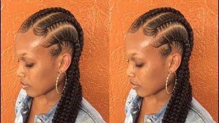 Stitch feed in braids