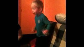 2-year old Luka dancing Gangnam Style