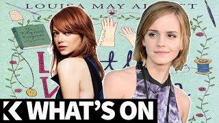 What's On: Emma Watson Geser Emma Stone di Little Women