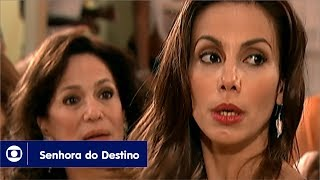 Senhora do Destino: capítulo 52 da novela, quarta, 24 de maio, na Globo