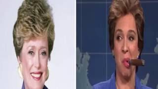 Dilma Rousseff - Satira pela comediante Maya Rudolph no Saturday Night Live