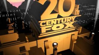 2013 20th Century Fox HD Logo Blender