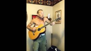 Dio rainbow in the dark acoustic cover Mike Jr.