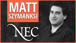 """""""Orchestra Wednesdays at NEC"""" - Matt Szymanski"""