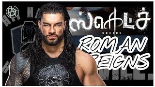 WWE ROMAN REIGNS TAMIL WHATSAPP STATUS-SKETCH BGM