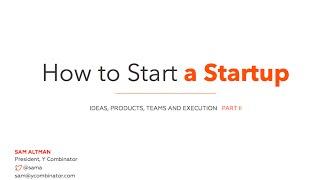 Start A Startup 2/20