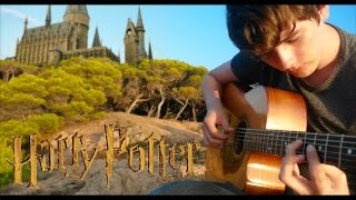 A Window to the Past - Harry Potter OST [Fingerstyle Guitar Cover by Eddie van der Meer]