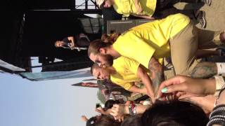 Blessthefall-40 Days (Warped Tour 2013)