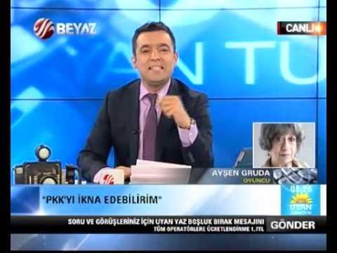 Ayşen Gruda Beyaz TV sunucusu Sarıkaya'ya çattı
