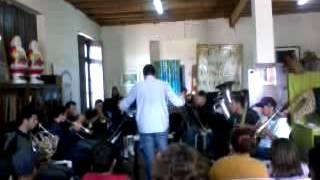 Banda municipal de Piraquara( Tema de Os Flintstones e os Simpsons)