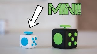 "Mini ""Midget"" Fidget Cube Unboxing + Comparison - Should You Buy It?!"