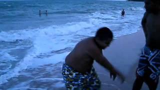 Gustavo na Praia de Lucena PB