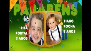Canal Panda 3 anos ! Parabéns Rita & Coloridas Cores