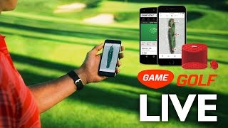 New GAME GOLF LIVE - Real Time Shot Tracking