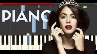Tini Yo Te Amo a Ti Jorge Blanco Violetta piano midi tutorial sheet partitura