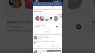 Como remover um pedido de amizade no Facebook.