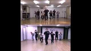 BTS(방탄소년단) _ Boy In Luv(상남자) cover dance by 爆弾少年団(japanese girl) - 比較動画