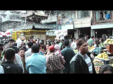 Ulice Kathmandu, Nepal