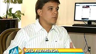 Entrevista TV Anhanguera (Globo) e G1 - Oto Alvarenga