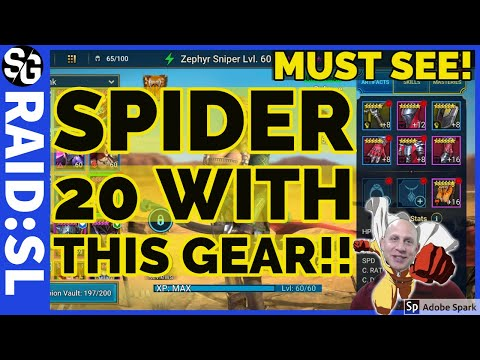 RAID SHADOW LEGENDS | SPIDERS 20 CLOSE TO ALL RARE!