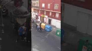 Pelea en el barrio