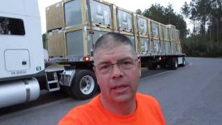 #83 My Stupid Dog and the CAT Scale The Life of an Owner Operator Flatbed Truck Driver Vlog