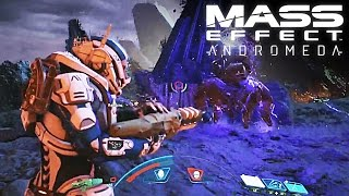 Mass Effect Andromeda NEW Gameplay Walkthrough (1080p 60 FPS) - CES 2017