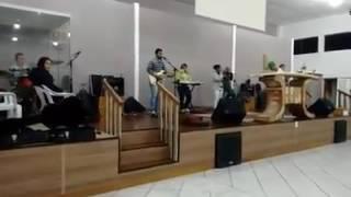 Ensaio Bola de Neve de Peruíbe musica: Nasci para te adorar Felippe Silva