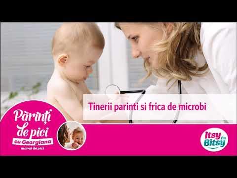 Tinerii parinti si frica de microbi