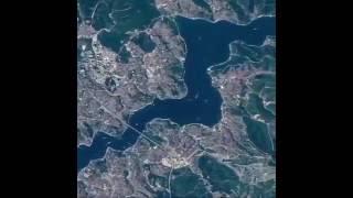 Nasa İstanbul Boğazı'nın Uzaydan Çekilen Görüntülerini Yayınladı