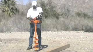 Harbor Freight Auger #63022 - Test and Review