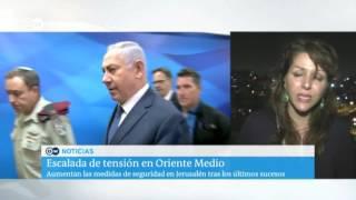 Tiroteo en la embajada de Israel en Jordania