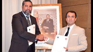 Signature d'une convention entre NewLine 3 & City Agricole avec Bank Al Yousr