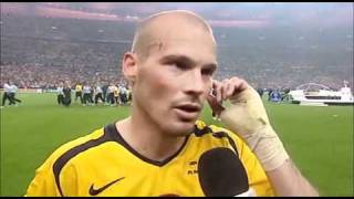 Interview with Freddie Ljungberg after the Champions League 2006 Final