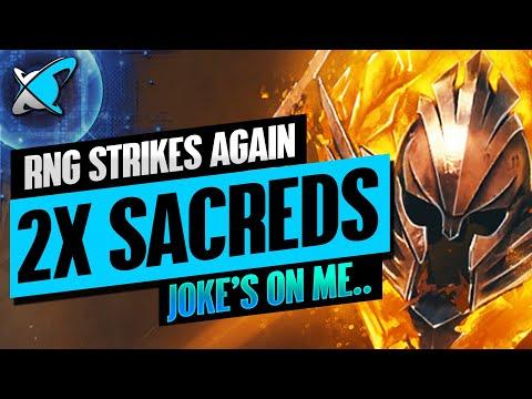 I GOT A NEW LEGENDARY... | 2X Sacreds Event Highlights | RAID: Shadow Legends